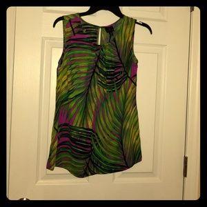 Worthington small Women's sleeveless printed top